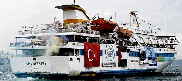Mavi Mamara, part of the Gaza Flotilla