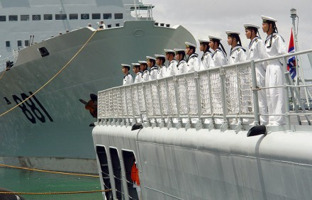 China's Military Gets Expeditionary