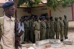 Somali police