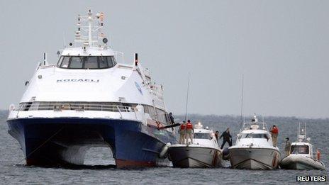 Turkish ferry