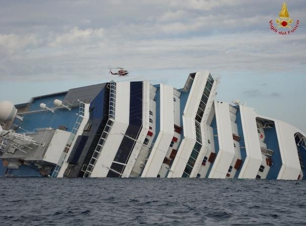 Costa Concordia - VVFF