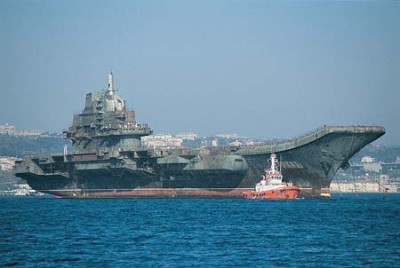China Carrier Preps for Flight Ops