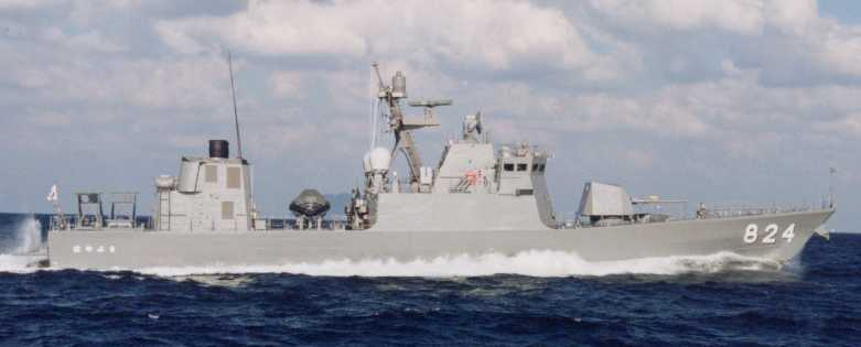 Japanese Patrol Boat Hayabusa