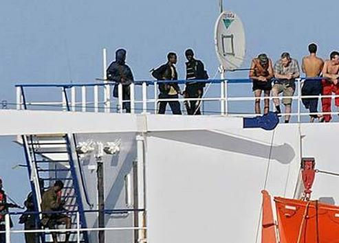Pirates and Hostage MV Faina