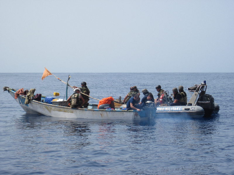 Somali Fishermen Rescued