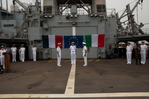 France hands over command of EUNAVFOR