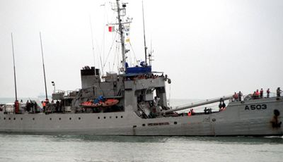 Nigerian Navy retakes control