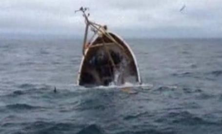 Rescued from Sinking Trawler
