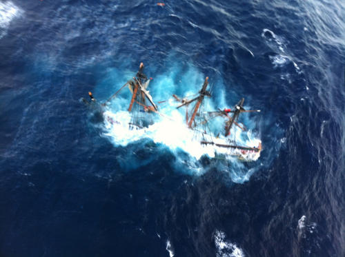 121029-G-ZZ999-002 - Coast Guard rescues crewmembers aboard HMS