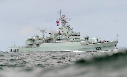 Chinese Frigate