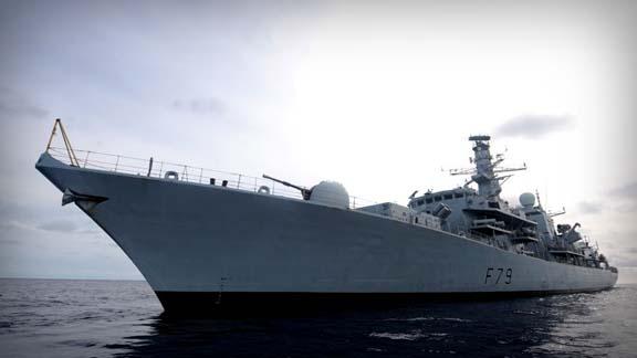 Royal Navy frigate