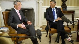 US singapore close relationship