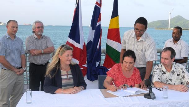 Australia signing RAPPICC