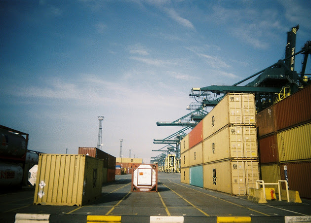 Traffickers Hack Shipping Containers