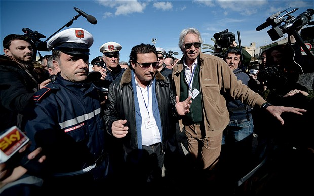 Costa Concordia captain accused of mounting cover up