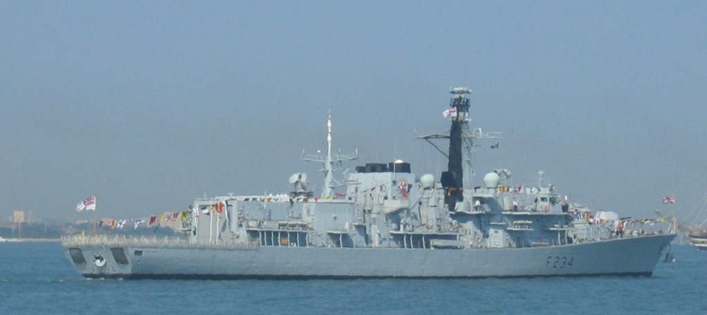 HMS Iron Duke, via Wikipedia Commons