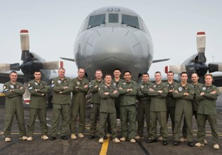 A P-3K2 Orion aircraft leaves Auckland bound for the United Arab Emirates, where it will join a multi-national task force focusing on counter-piracy.