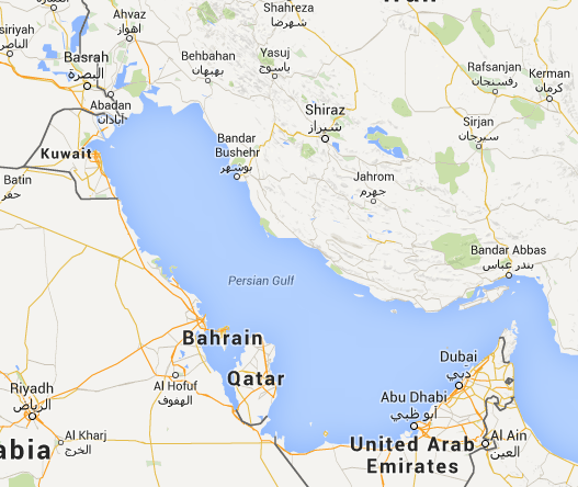 the us realignment of the persian gulf