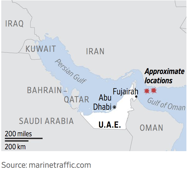 Two New Tankers Targetted Near Strait of Hormuz – Early Reports